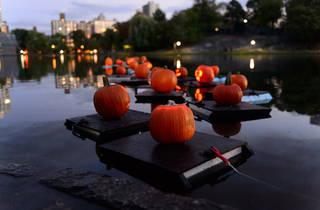 Central Park Halloween Parade and Pumpkin Sail