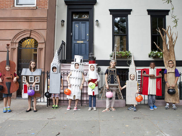 Creative homemade Halloween costumes for kids (2013)