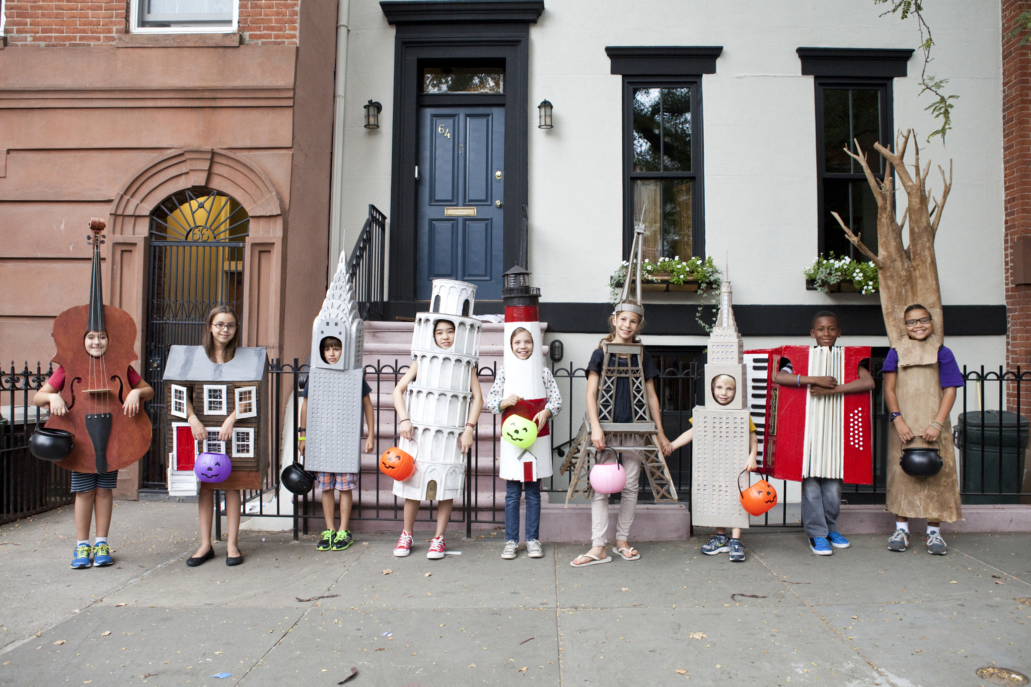 creative homemade halloween costumes for kids (slide show)