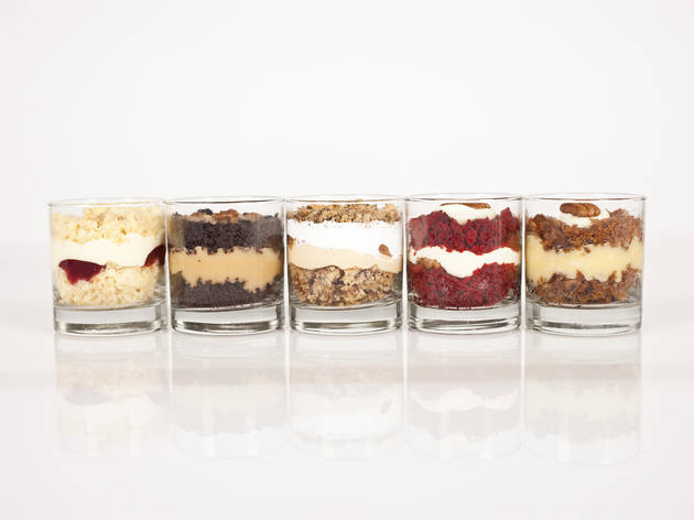 Most refreshingly new twist: Bee's Knees cake cups