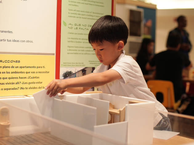 """Building Brainstorm"" at the Brooklyn Children's Museum"