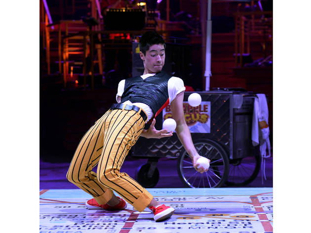 (Photograph: Bertrand Guay/Big Apple Circus)
