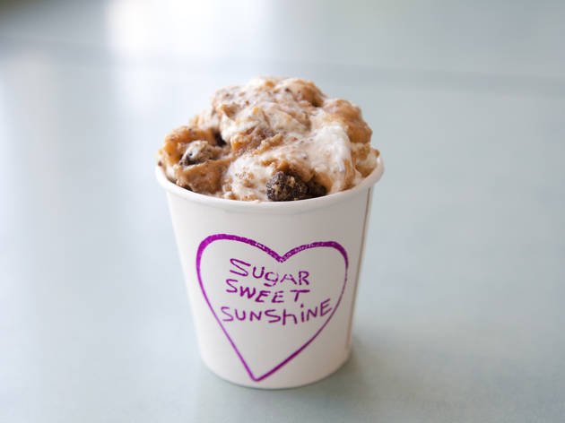 "Most happy accident: Sugar Sweet Sunshine ""chocolate chip deliciousness"" pudding"
