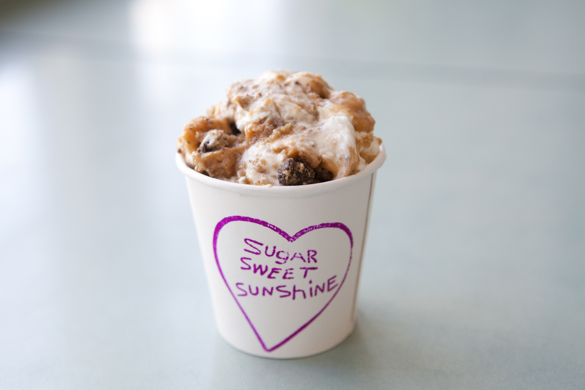 """Most happy accident: Sugar Sweet Sunshine """"chocolate chip deliciousness"""" pudding"""