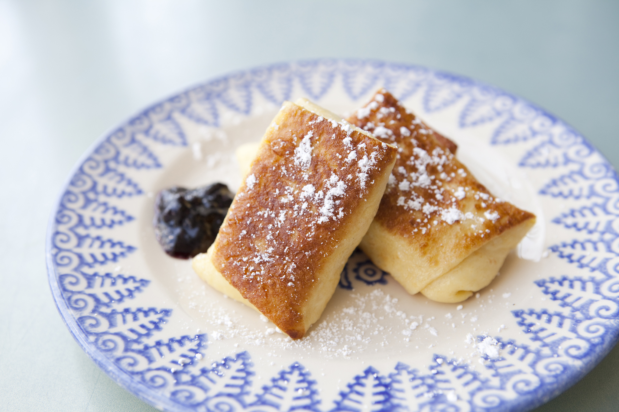 Best dessert from old New York: Barney Greengrass blintzes