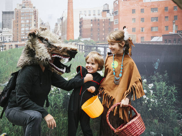 Where to go trick-or-treating with kids in NYC