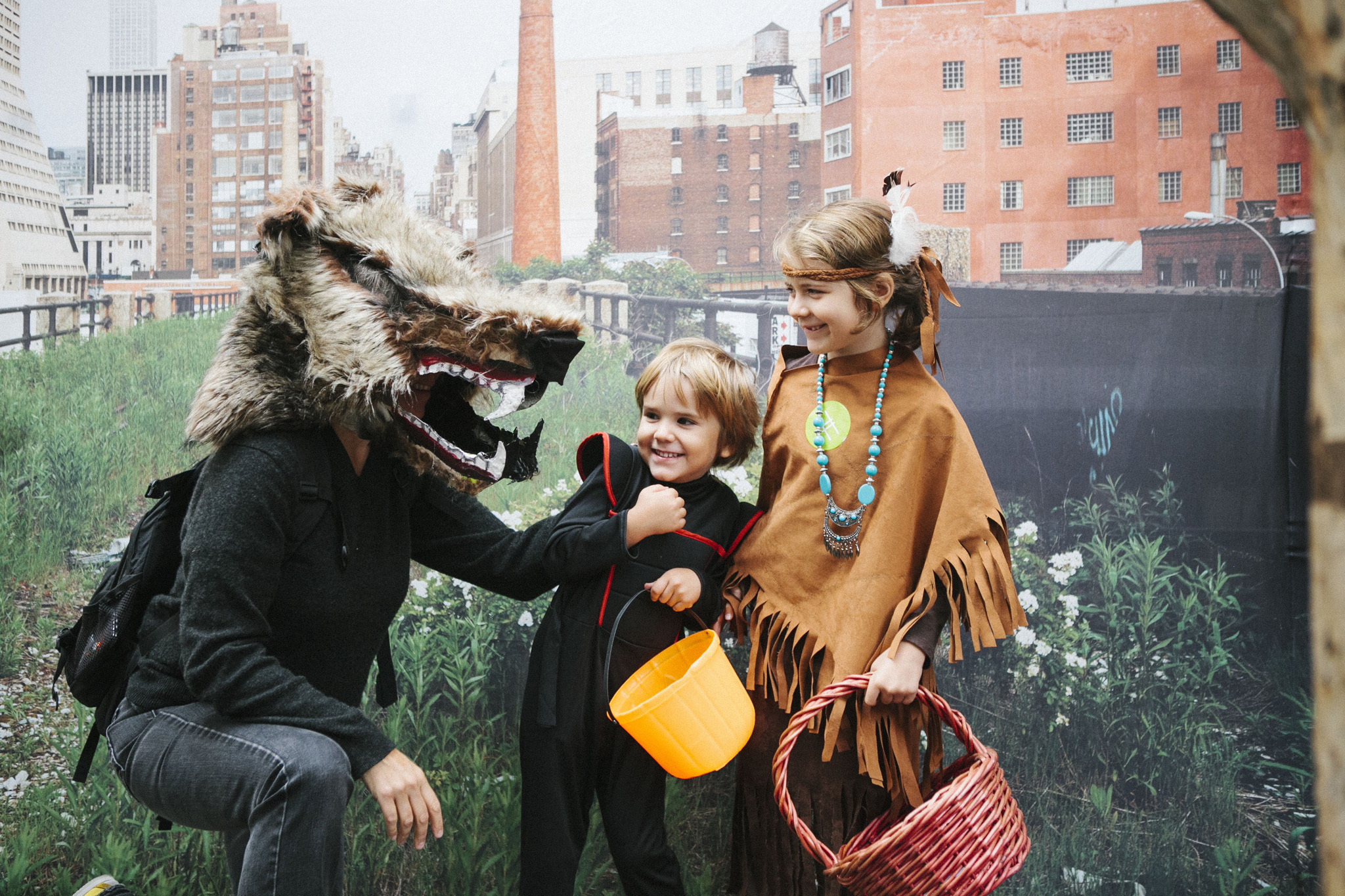 Haunted High Line Halloween