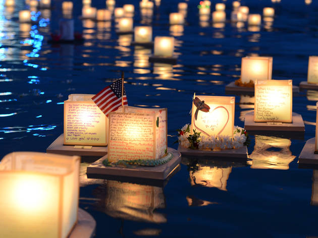 Lantern Floating for Peace