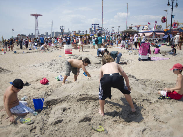 Sand Sculpting Contest and Unity Day on the Coney Island Boardwa