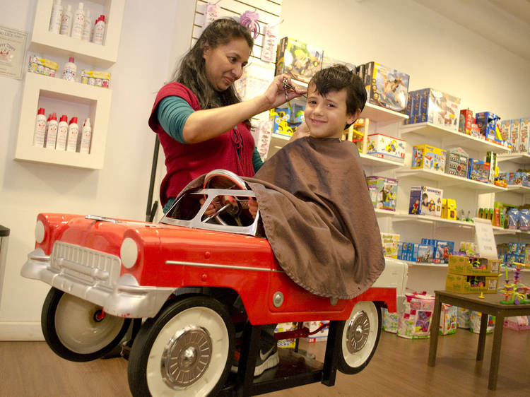 The best salons in NYC for kids haircuts