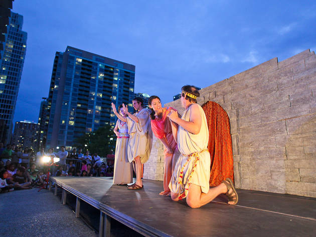 Hip to Hip Theater Co. presents Shakespeare in the Park