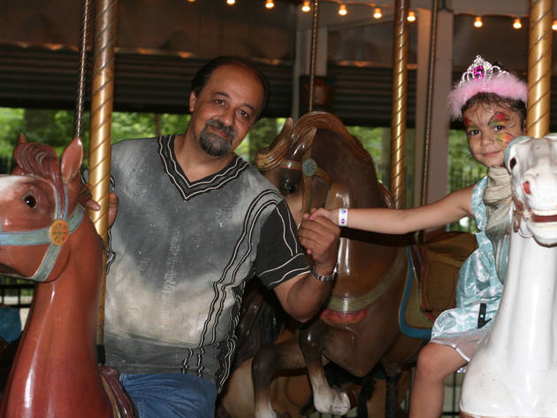 An Evening Ride on the Forest Park Carousel to End Alzheimers