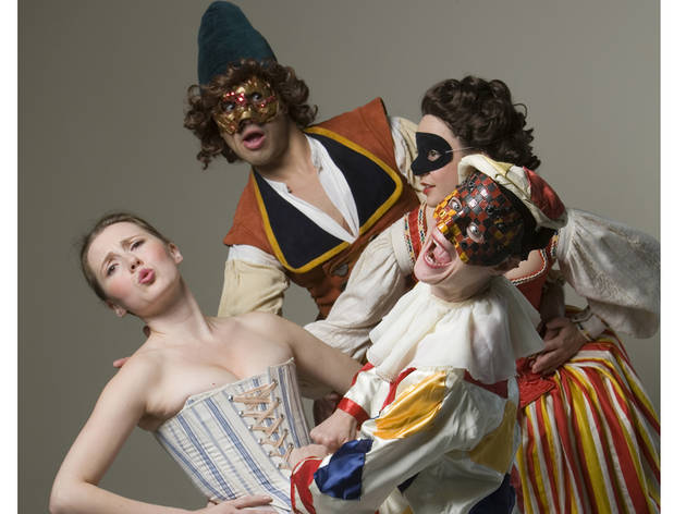 """Commedia Dell' Arte for Children"""