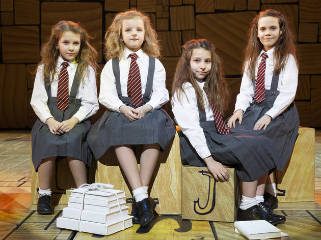Matilda on Broadway: Meet the four girls who play the title role