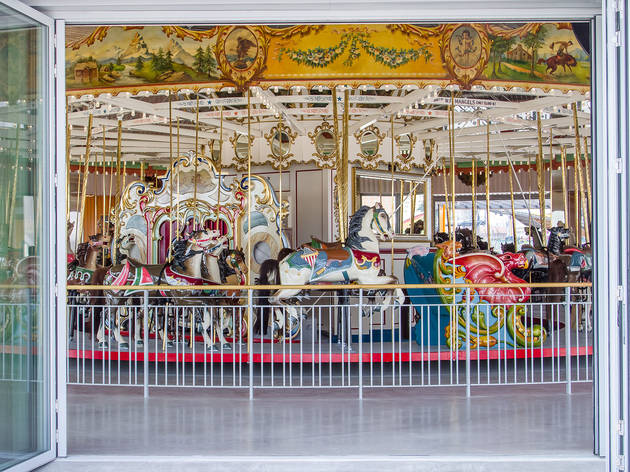 Best restored carousel: B&B Carousell