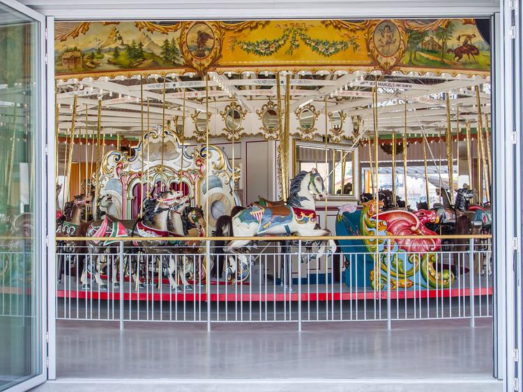 Best restored carousel: B&B Carousell