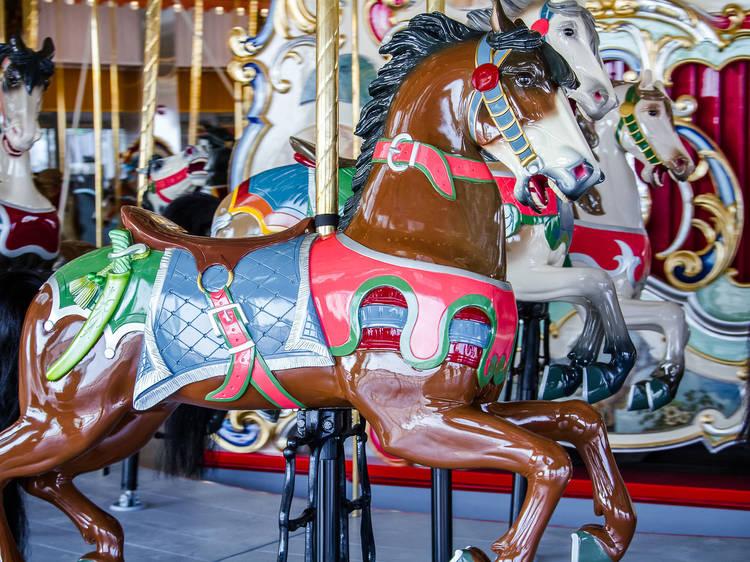 B&B Carousel at Luna Park in Coney Island