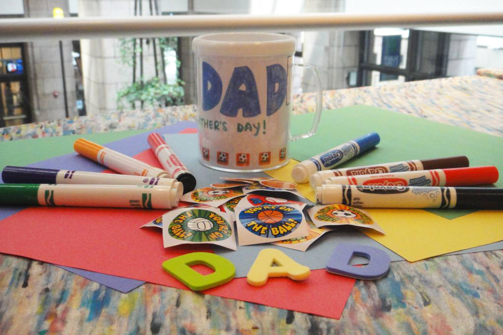 Family Workshop: Father's Day Heroes