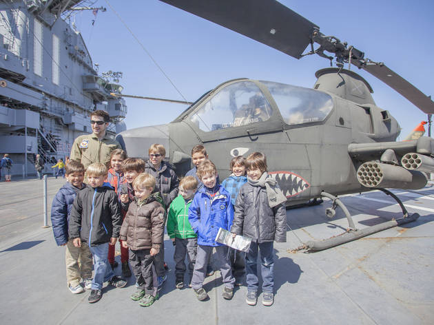 Best birthday spot: Intrepid Sea, Air & Space Museum