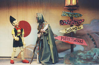 Pinocchio at Puppetworks