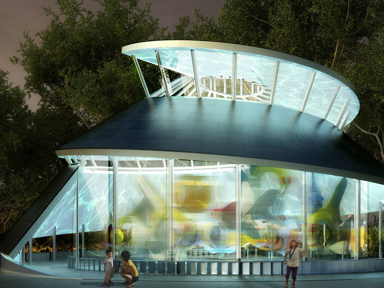 Ride the gorgeous SeaGlass Carousel at The Battery