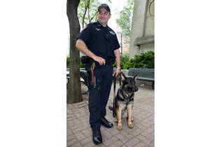 Meet Lt. John Pappas of the NYPD Canine Transit Unit