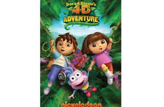 Dora & Diego's 4–D Adventure