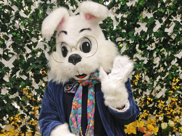 Hop On Over! Take a Photo with the Easter Bunny