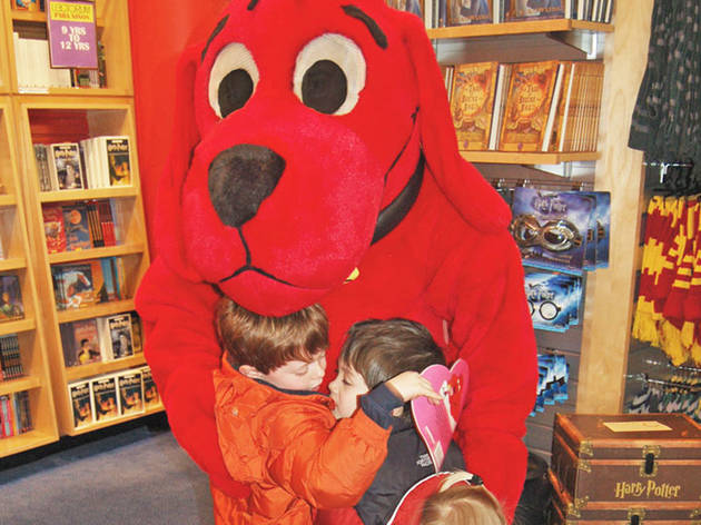Clifford's Halloween Parade