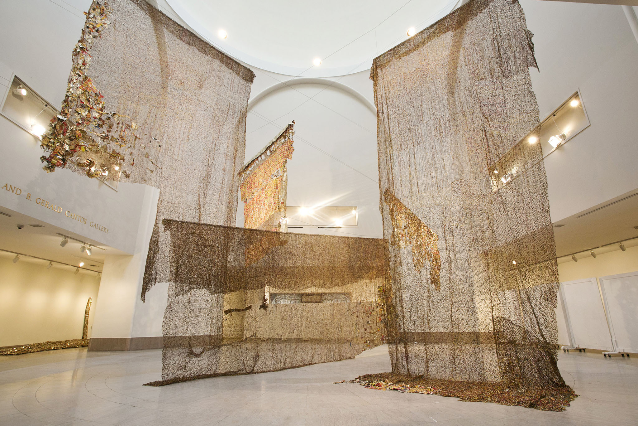 Quot Gravity And Grace Monumental Works By El Anatsui Quot In