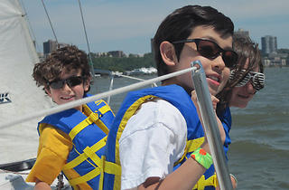 (Photograph: Courtesy Hudson River Community Sailing)