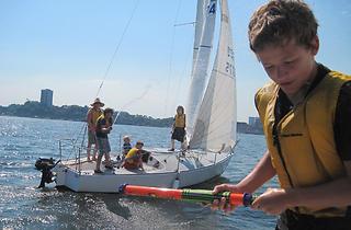 (Photograph: Courtesy Hudson River Community Sailing)