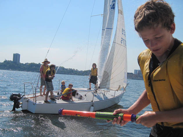 Hudson River Community Sailing City Sail