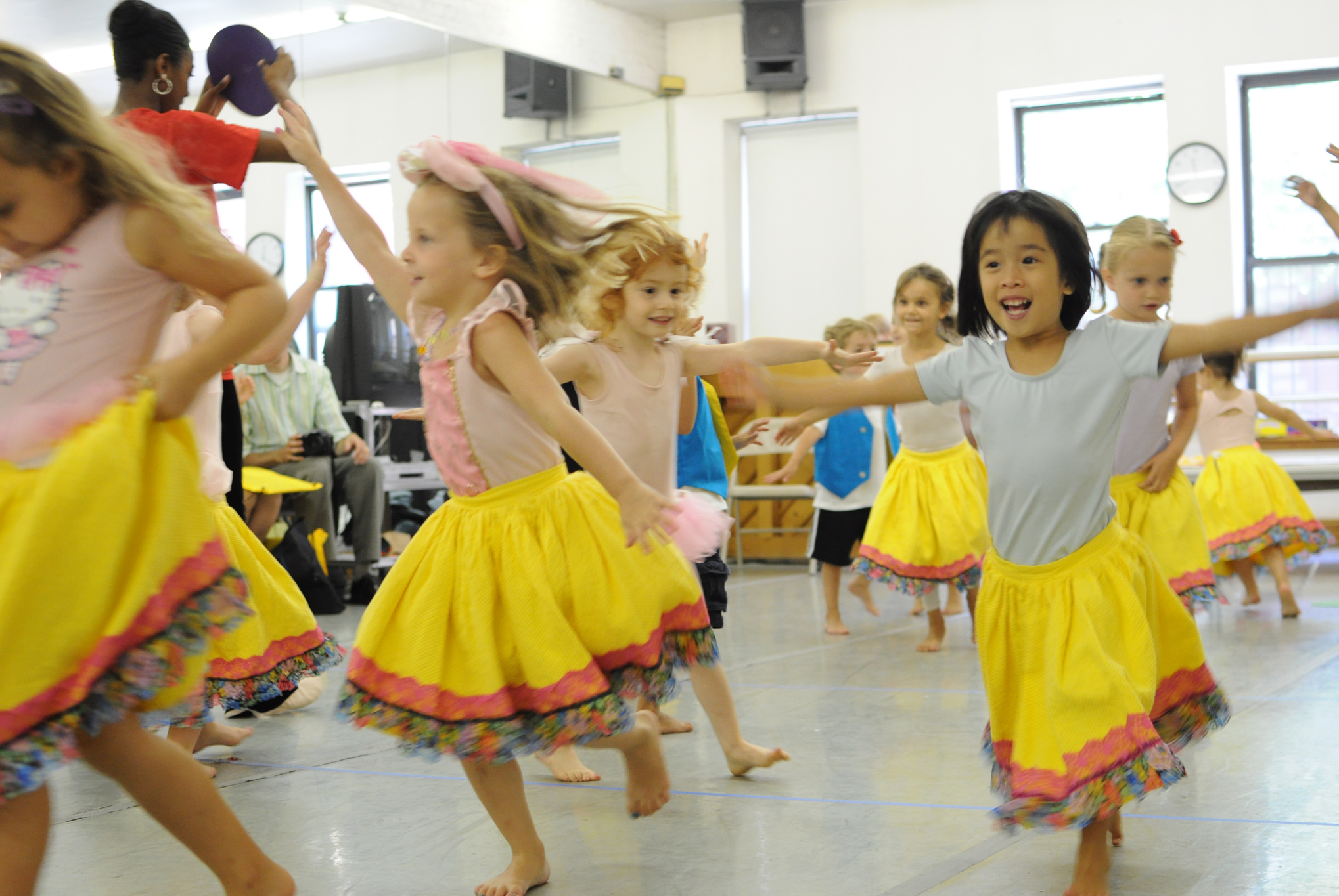 Ballet Hispanico Preschool Summer Dance Camp