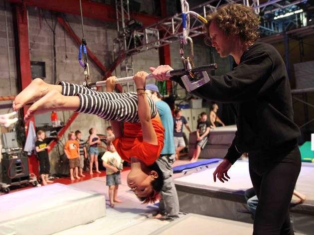 STREB Summer Circus Camp
