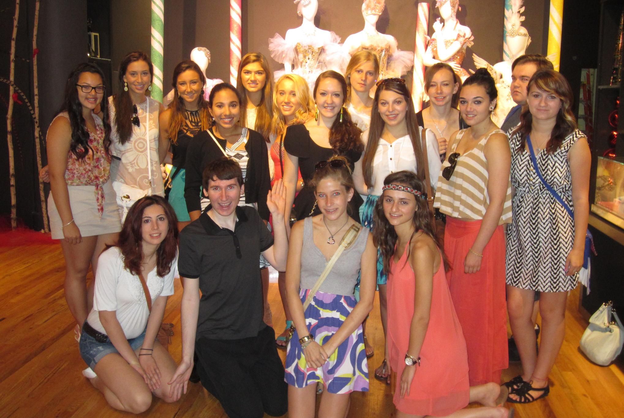 Banson nyc fashion summer camp