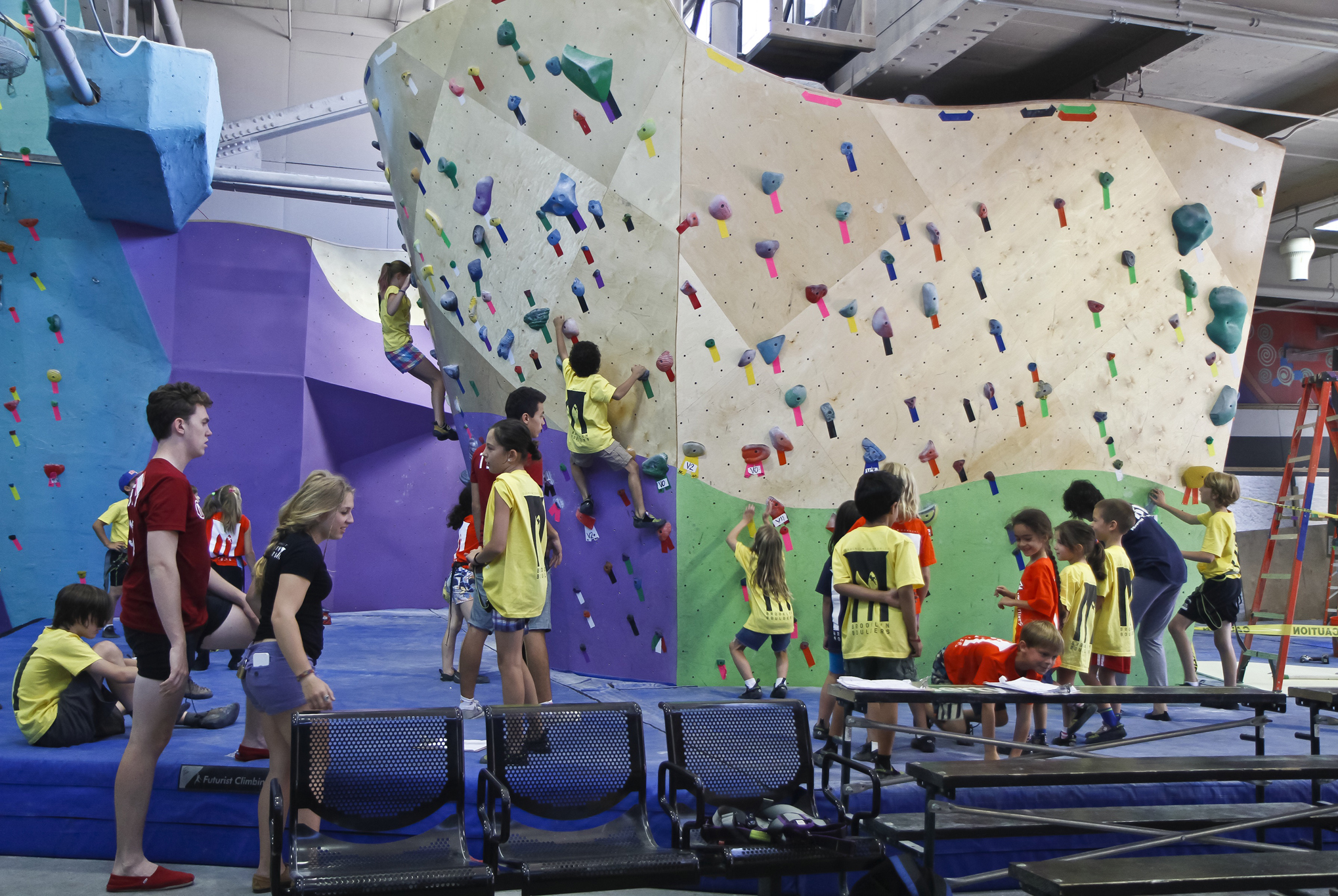 Best place to go rock climbing: Brooklyn Boulders