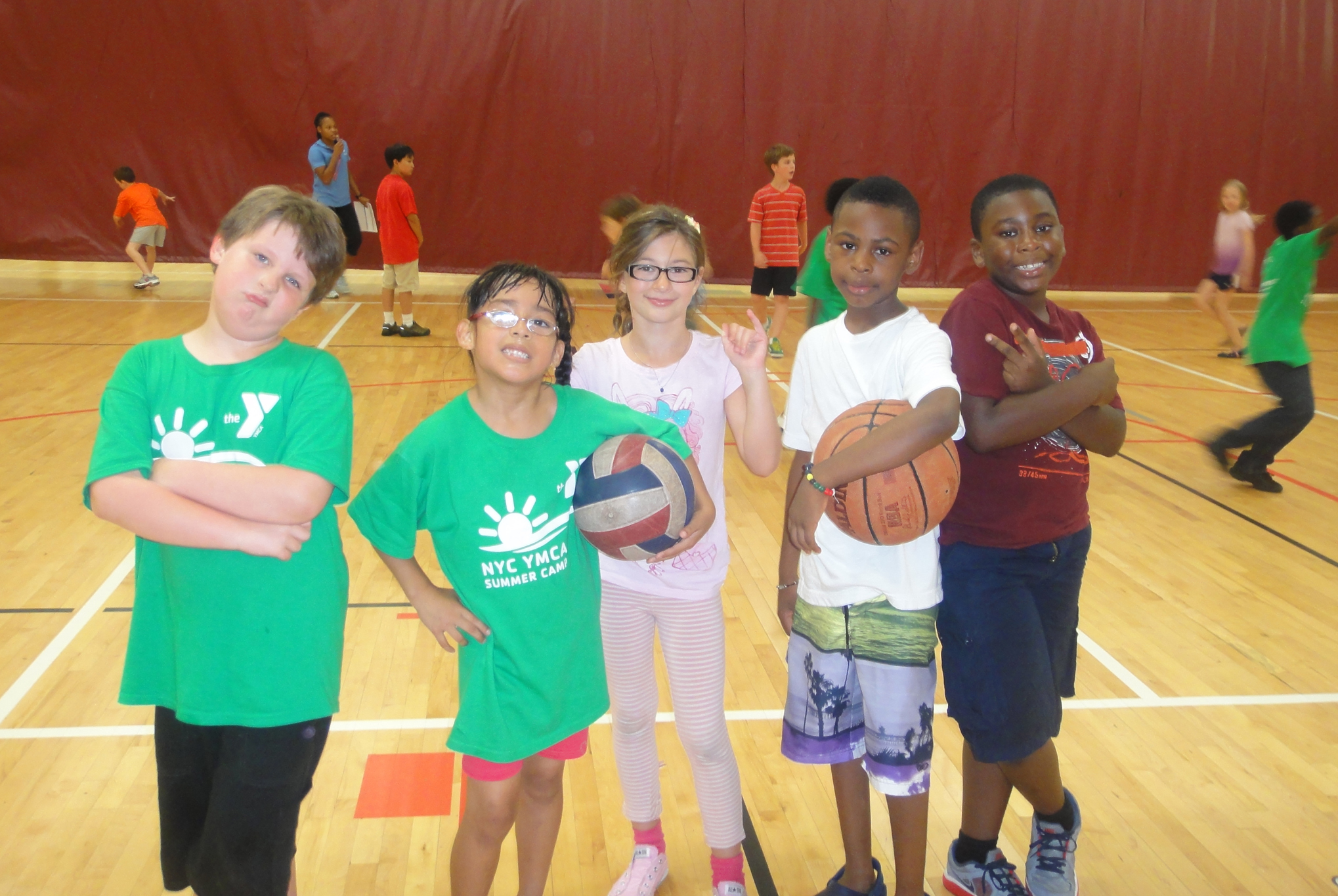 McBurney Basketball Camp
