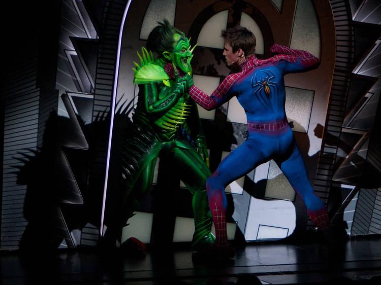 Spider-Man VIP Backstage Tour