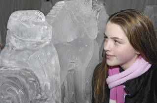 Salute to Wildlife Ice Carving Week