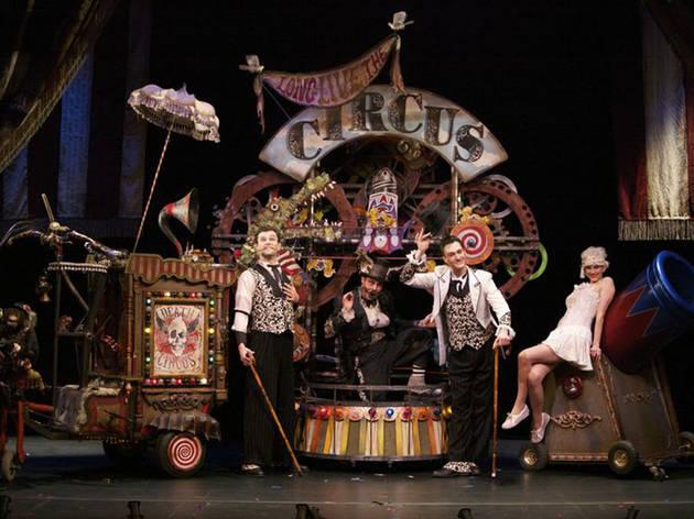 Squirm Burpee Circus
