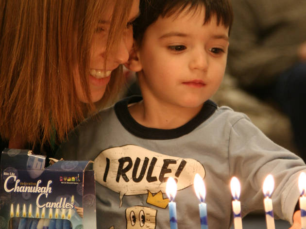 Hanukkah events for kids in NYC
