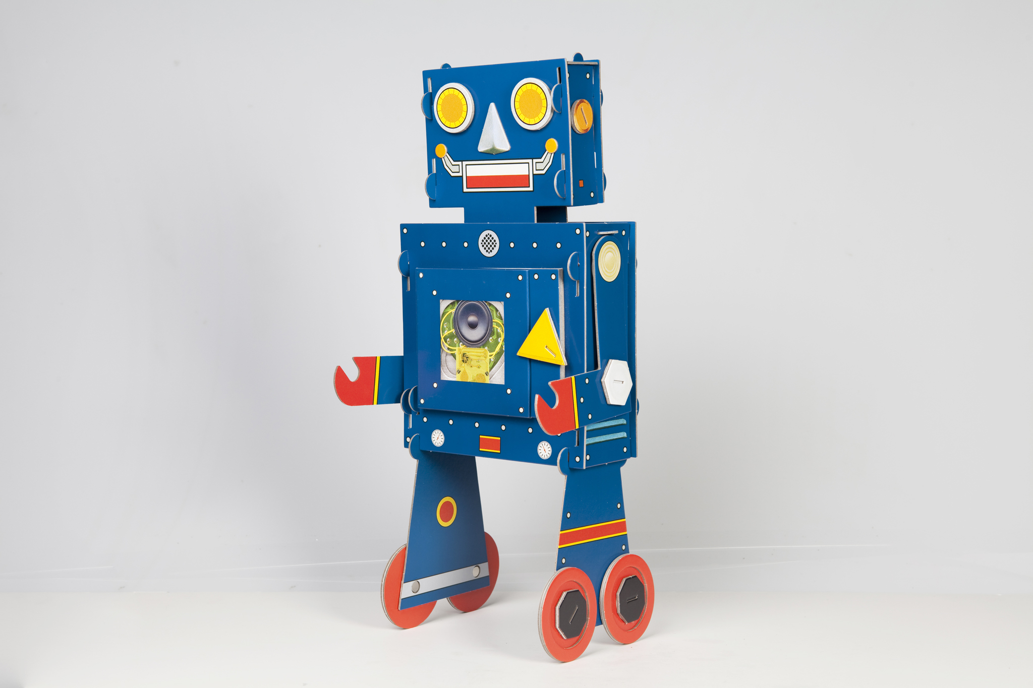 My Little Blue Robot by Stephen T. Johnson