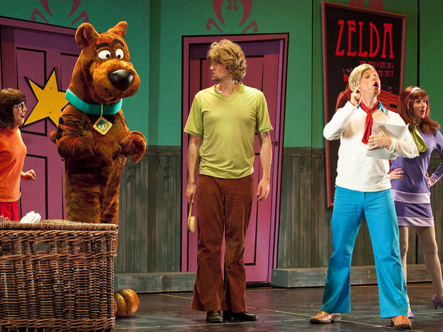 Help Scooby and crew solve a mystery