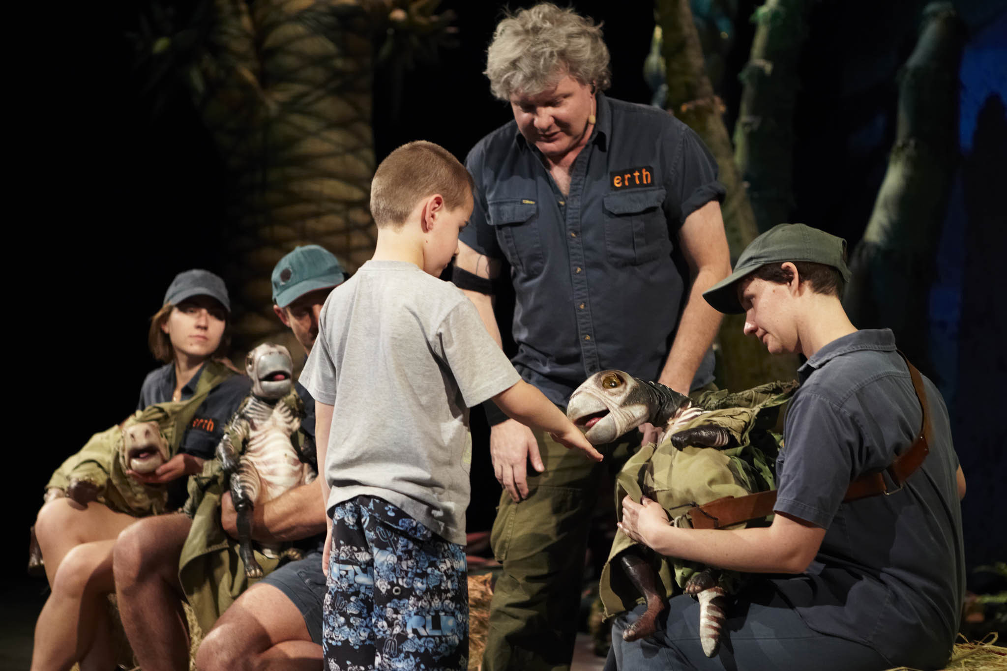 Meet lifelike dinosaurs at the New Vic