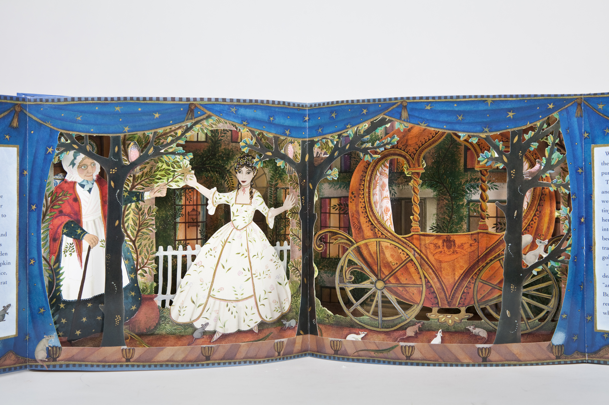 Cinderella: A Three-Dimensional Fairy Tale Theater by Jane Ray