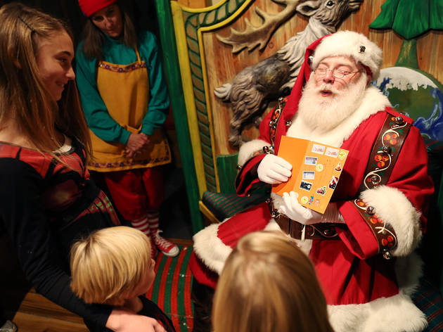 Best places to see Santa in NYC