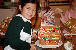 Gingerbread House Workshops at Taste Buds