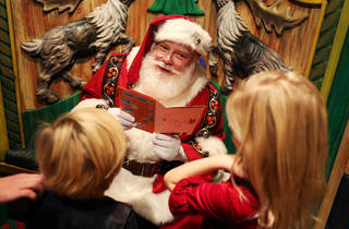 Photos with Santa at Macy's