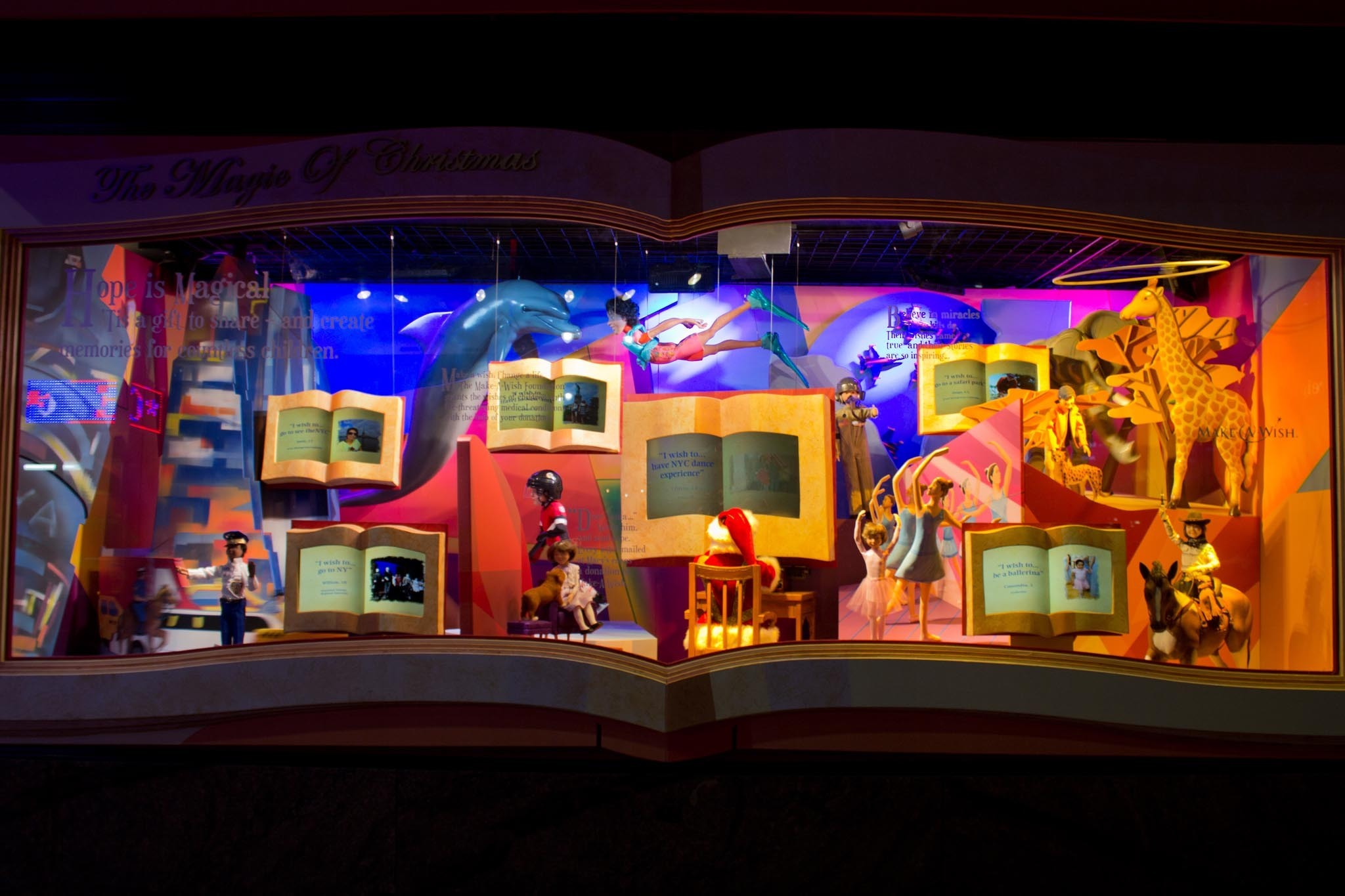 Marvel at holiday window displays